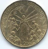 Vatican City - John Paul II - 1999 - 200 Lire - KM309 - Vatikan