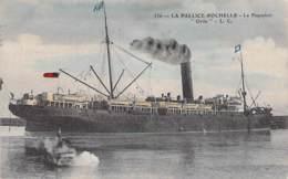 """"""" ORITA """" (17) LA PALLICE - ROCHELLE - PAQUEBOT Liner Cruise - Jolie CPA Colorisée - Ship Kreuzfahrtschiff Cruiseschip - Paquebots"""