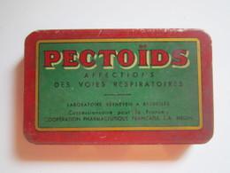 Ancienne Boite De PHARMACIE Ouverture Tiroir PECTOÏDS AFFECTIONS DES VOIES RESPIRATOIRES  PRIX 100 Frs  8 X 5 Cm - Boîtes