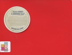 MATIGNON COTES DU NORD GAUSSON Chambrin  Pharmacien  ETIQUETTE ANCIENNE PHARMACIE Art Nouveau CIRCA 1900 - Altri