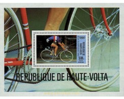 Ref. 68862 * MNH * - UPPER VOLTA. 1980. GAMES OF THE XXII OLYMPIAD. MOSCOW 1980 . 22 JUEGOS OLIMPICOS VERANO MOSCU 1980 - Ciclismo