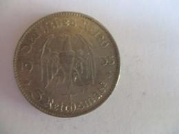 5 Reichmark 1935 J - [ 4] 1933-1945: Drittes Reich