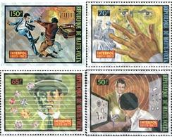 Ref. 45328 * MNH * - UPPER VOLTA. 1973. 50th ANNIVERSARY OF THE INTERPOL . 50 ANIVERSARIO DE LA INTERPOL - Upper Volta (1958-1984)