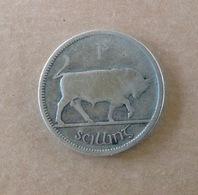 PA. MO. 57.   Irlande 1 Shilling Argent 1928. Taureau - Ireland