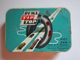 Ancienne Boite REMA TIP TOP VULCANIZE (écrite Sur Coté) - Boîtes