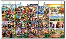 Indonesia 1998 Folktales - Indonesia