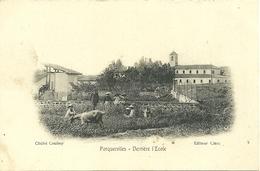 PORQUEROLLES - Derrière L' Ecole  - Cliché Coulmy - Porquerolles