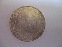 5 Reichmark 1934 F - [ 4] 1933-1945: Drittes Reich