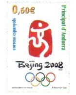 Ref. 215622 * MNH * - ANDORRA. Spanish Adm.. 2008. PEKING OLYMPIC GAMES . 29 JUEGOS OLIMPICOS VERANO PEKÍN 2008 - Nuevos