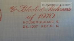 D165988 Denmark Danmark  -EMA- Freistempel -METER STAMP- Bloch & Behrens  Kobenhavn  1972 - Vignette Di Affrancatura (ATM/Frama)