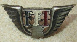 """Insigne """"FFI"""" Matriculé - 1939-45"""