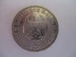 5 Reichmark 1936 D - [ 4] 1933-1945: Drittes Reich