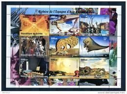 Dalí. Rép. De Guinée 1998. Yvert 1482-90 ** MNH. - República De Guinea (1958-...)