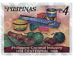 Ref. 53125 * MNH * - PHILIPPINES. 1998. CENTENARIO DE LA INDUSTRIA FILIPINA - Filipinas