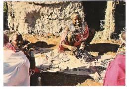 Kenya - Kenia - Masai Woman At Manyatta - Girl - Kenia