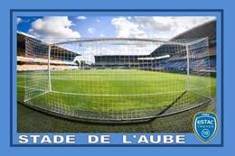 Cp: Stade .   TROYES  FRANCE  STADE DE L'AUBE  #  CS. 184 - Voetbal