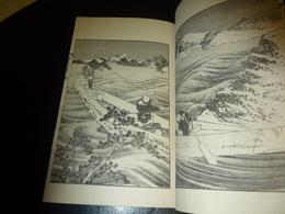 LIVRE ANCIEN JAPONAIS ESTAMPES LITHOGRAPHIES GRAVURES 03 - JAPANESE OLD BOOK ILLUSTRATION - Libros Antiguos Y De Colección