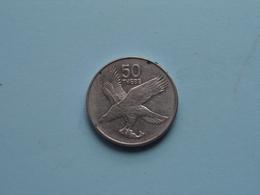 50 Thebe 1991 - KM 7a ! - Botswana