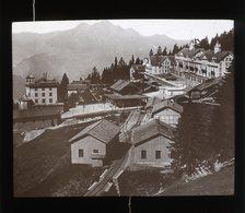 Rigi Kaltbad SWITZERLAND - Magic Lantern Slide (lanterne Magique) - Plaques De Verre