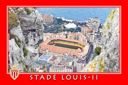 Cp: Stade .   MONACO  FRANCE  STADE  LOUIS II   #  CS. 004 - Voetbal