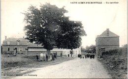 27 - SAINT AUBIN D'ECROSVILLE -- Un Carrefour - Saint-Aubin-d'Ecrosville