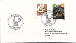 ITALIA.  STORIA WWII. 60° ANNIVERSARIO DELLA LIBERAZIONE CASALE MONFERRATO 2005 - 2001-10: Poststempel