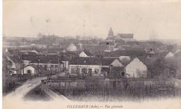 10. VILLEMAUR SUR VANNE.  CPA. VUE GÉNÉRALE.  ANNÉE 1920 + TEXTE - France