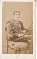 Alphonse XII Roi  D'Espagne Photo CDV Années 60-70 Par LE JEUNE Paris - Personalidades Famosas