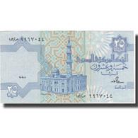 Billet, Égypte, 25 Piastres, Undated (1985-2007), KM:57a, SUP - Egypte
