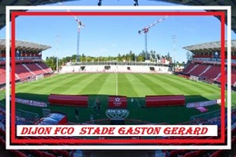 Cp: Stade .   DIJON   FRANCE    STADE GASTON GERARD  #  CS. 014 - Voetbal