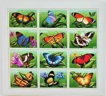 Liberia 1996**Mi. 1707-18  Butterflies , MNH [3;31] - Butterflies