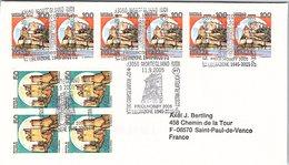 ITALIA.  STORIA WWII. 60° ANNIVERSARIO DELLA LIBERAZIONE MORTEGLIANO 2005 - 2001-10: Storia Postale