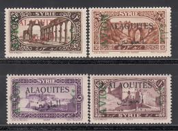 1925  Yvert Nº  5 / 8  MH - Alaouites (1923-1930)
