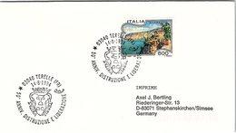 ITALIA.  STORIA WWII. 50° ANNIVERSARIO DISTRUZIONE E  LIBERAZIONE TERELLE 1994 - 6. 1946-.. Repubblica
