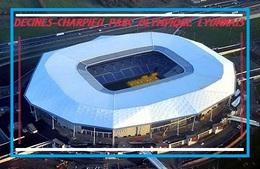 Cp: Stade .  DECINES - CHARPIEU  FRANCE  PARC OLYMPIQUE LYONNAIS #  CS. 028 - Football