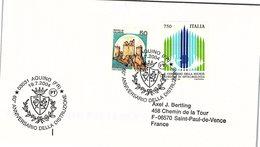 ITALIA.  STORIA WWII.60° ANNIVERSARIO DELLA DISTRUZIONE AQUINO 2004 - 2001-10: Storia Postale