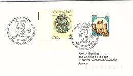 ITALIA.  STORIA WWII. 60° ANNIVERSARIO DELLA LIBERAZIONE ANCONA 2004 - 2001-10: Storia Postale