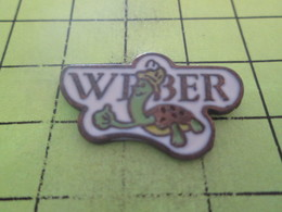 615B Pin's Pins / Beau Et Rare : THEME : ANIMAUX / TORTUE WEBER - Animales
