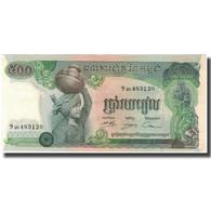 Billet, Cambodge, 500 Riels, KM:16a, SPL - Cambodge