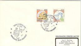 ITALIA.  STORIA WWII. 50° ANNIVERSARIO  DELLA LIBERAZIONE CORTONA 1994 - 6. 1946-.. Repubblica