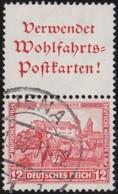 Deutsches  Reich   .    Michel   .    S 101     .    O     .     Gebraucht      .   /  .   Cancelled - Zusammendrucke