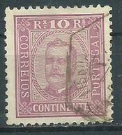 Timbre Portugal 10 R Lilas 1892-94 - 1892-1898 : D.Carlos I