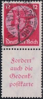 Deutsches  Reich   .    Michel   .    S 104      .    O     .     Gebraucht      .   /  .   Cancelled - Se-Tenant
