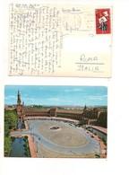 M9000 SPAGNA STAMP 1961 SEVILLA TOLEDO MARK - 1931-Oggi: 2. Rep. - ... Juan Carlos I