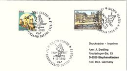 ITALIA. BUSTA. 75° ANNIVERSRIO   GUERRA 1915-18 MILANO 1990 - 1991-00: Poststempel