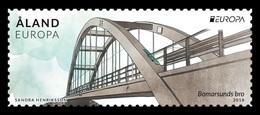 Aland 2018 Mih. 454 Europa-Cept. Bridges. Bomarsund Bridge MNH ** - Aland