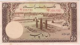 Pakistan 10 Rupees 1951 P-13 /015B/ - Pakistan