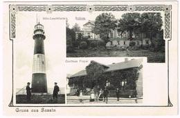 SASSIN - SASINO 1909 Leuchtturm - Light House - Ostpreussen