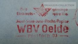 D166012  Germany  -EMA- Freistempel -METER STAMP-  WBW Oelde - 1972 - [7] République Fédérale