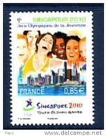 2010.N°4491** J.O. DE SINGAPOUR - Nuevos